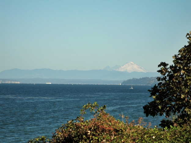 Mt. Baker and the Puget Sound...