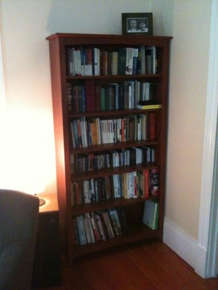 Books already moved to our new home...