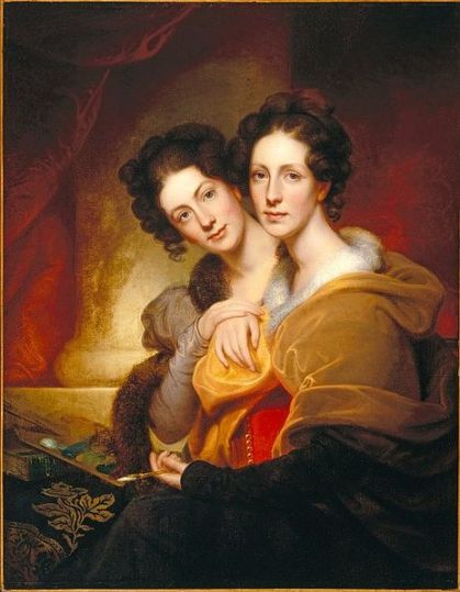 The Sisters, by Rembrandt Peale