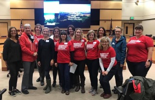 Moms Demand Action team